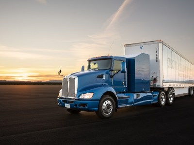 Toyota hydrogen fuel cell-powered semi truck