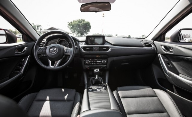 2018 Mazda 6 Turbo interior