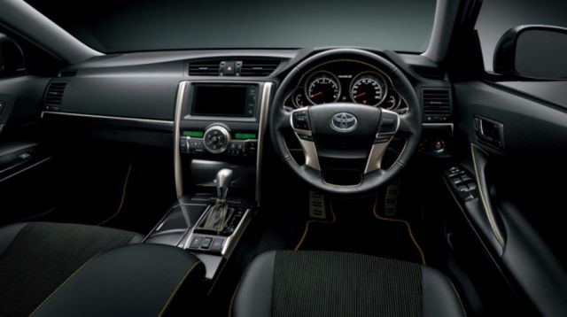 2018 Toyota Mark X interior