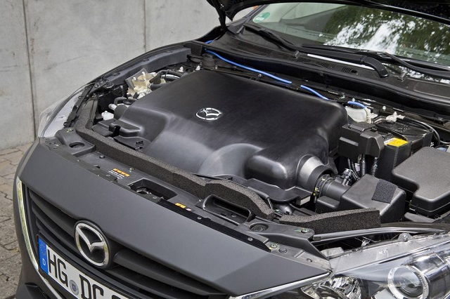 2020 Mazda New Generation Technologies engine