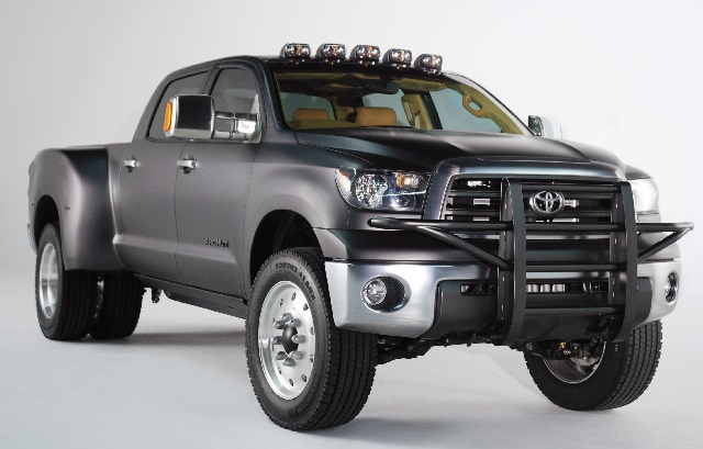 Toyota Concept Truck Diesel >> Toyota Tundra Dually Diesel Concept Sema Specs Release Date