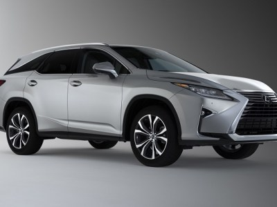 2019 Lexus RX L Three-Row 7-Seat Luxury Crossover front view