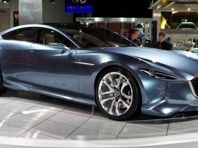 2019 Mazda 6 Turbo Concept photo 2