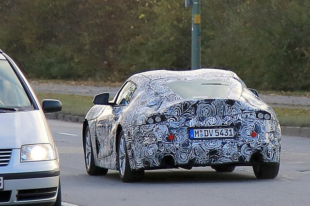 2019 Toyota Supra to be released under Gazoo performance brand rear view