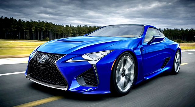 2019 Lexus LC F front view