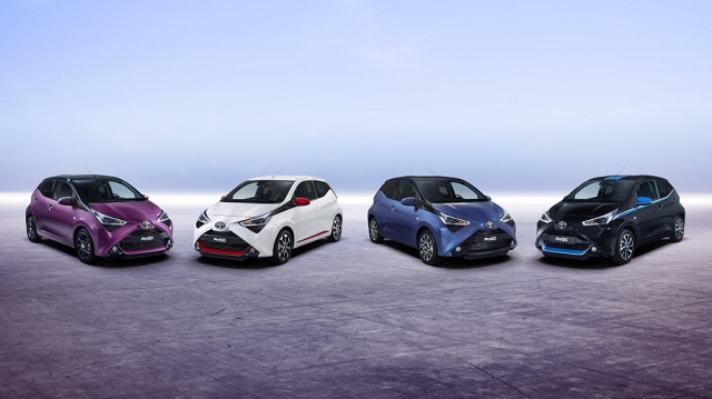 2019 Toyota Aygo colors