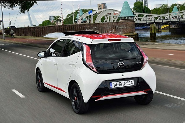 2019 Toyota Aygo rear view