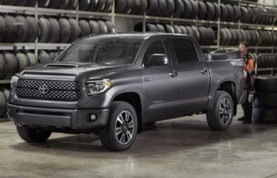 2020 Toyota Tundra side view
