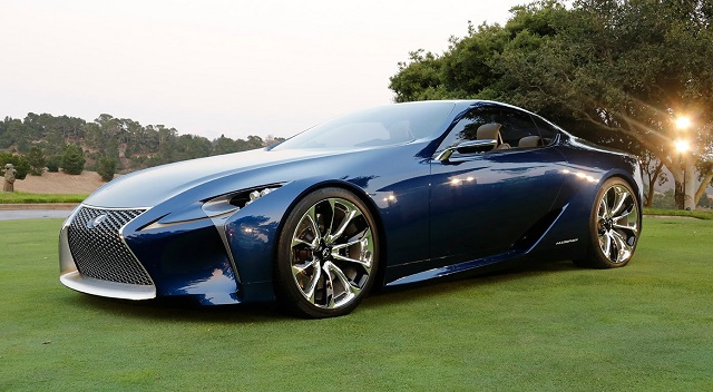 2019 Lexus Lc Review Hybrid Release Date Price Toyota Mazda