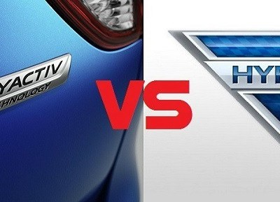 SkyActiv vs Hybrid Technology