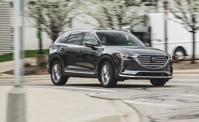 2018 Mazda CX-9 front view