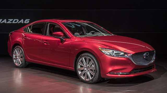 2019 Mazda 6 AWD front view