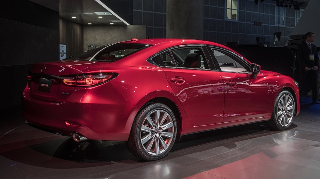 2019 Mazda 6 AWD rear view