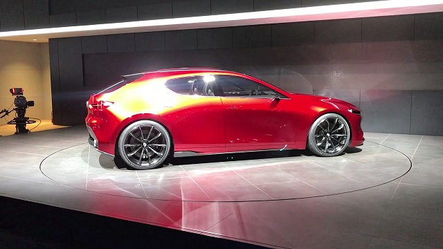 2020 Mazda 3 side view