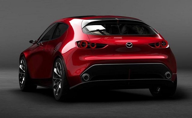 2020 Mazdaspeed 3 rear view