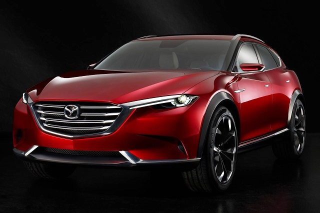 2021 Mazda CX-9 front view