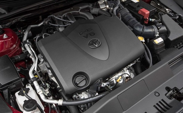 2019 Toyota Avalon TRD engine