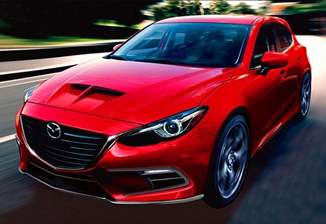 Mazda 3 MPS front view
