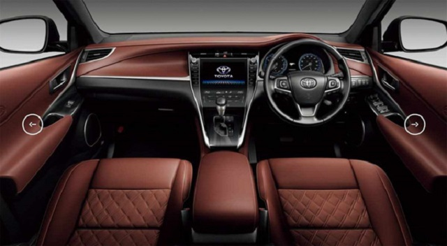 2019 Toyota Harrier interior