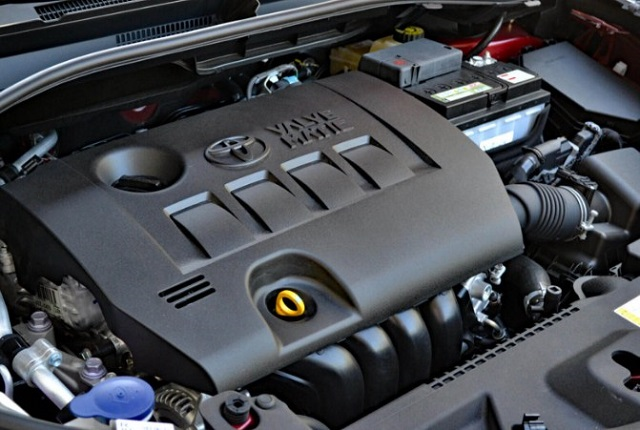 2020 Toyota Auris engine