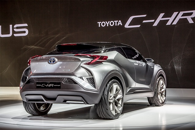 2020 Toyota C-HR rear view