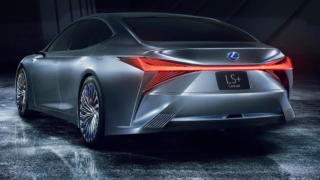 2020-Lexus-LS-rear-view