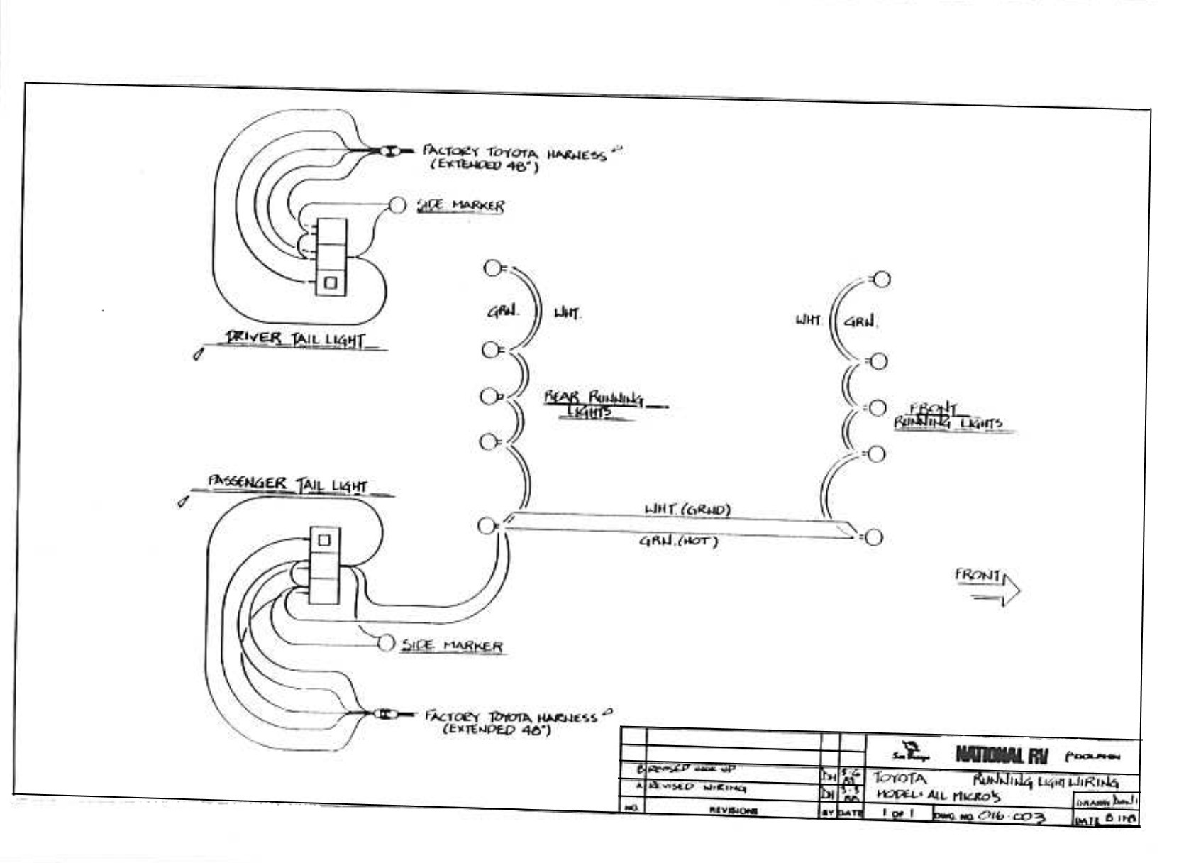 Cb Wiring Diagram 1984 Nissan Chassis Sunrader Electrical Schematics