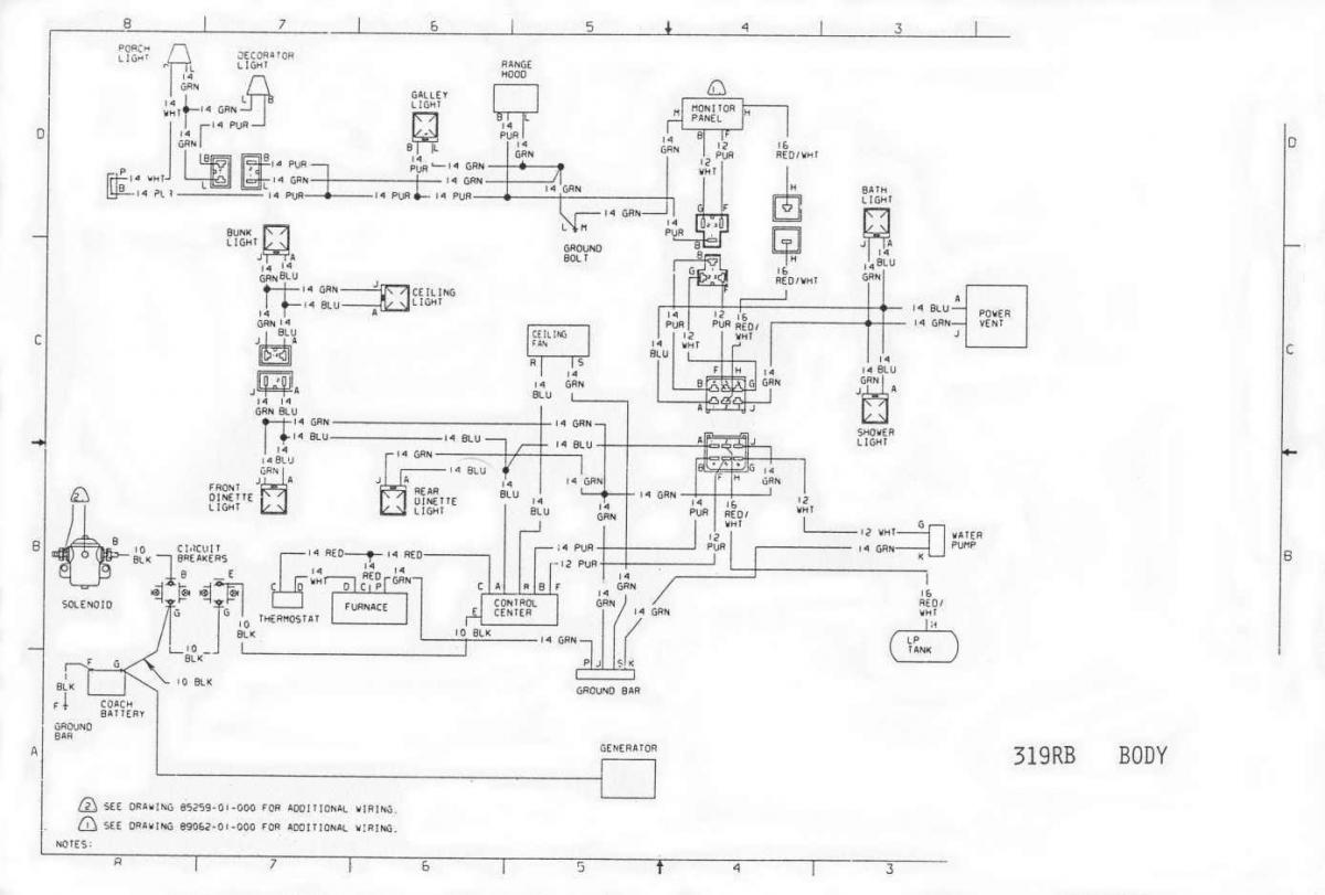 1975 winnebago wiring diagram