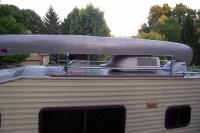 Motorhome Kayak Roof Rack With Simple Creativity | fakrub.com