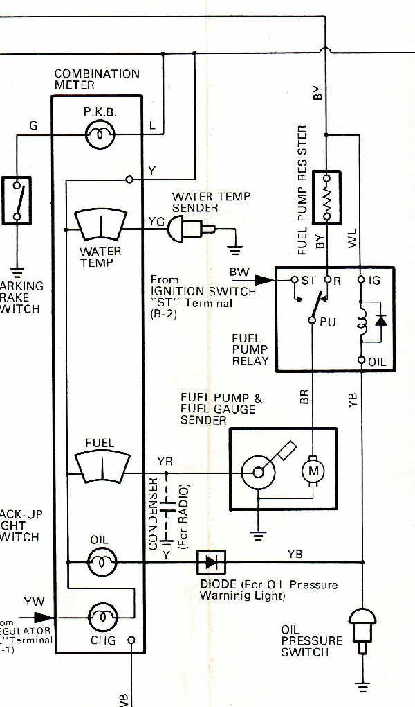 19751978 pickup electric fuel pump wiring diagram  info