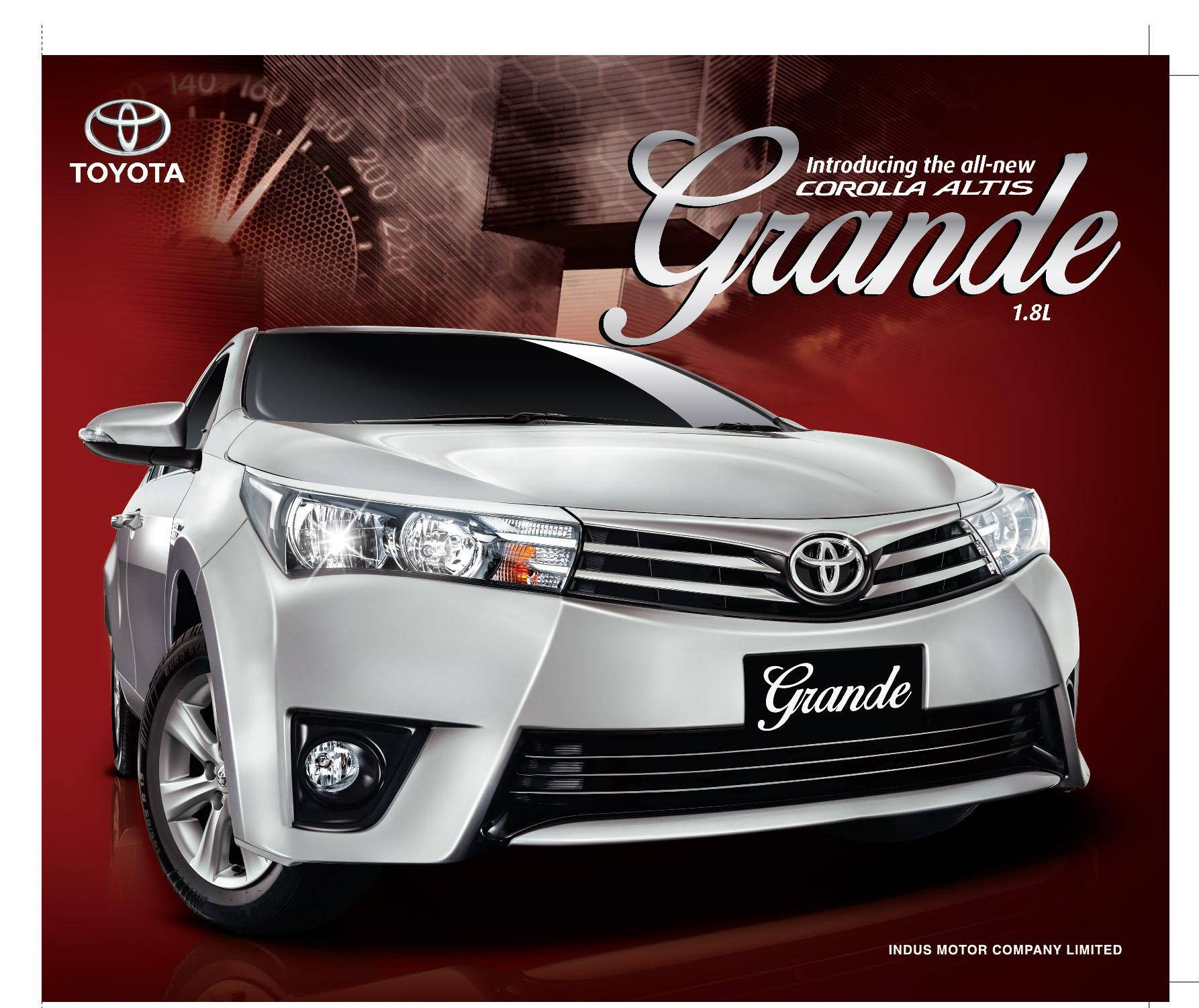 new corolla altis grande audio grand avanza 1.3 g toyota