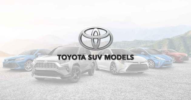Toyota SUV Models
