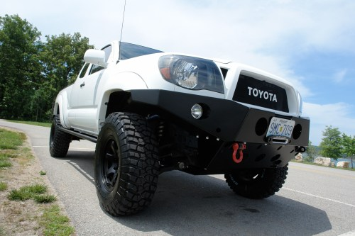 small resolution of all pro offroad sheet metal bumper 2002 tacoma front bumper wiring harness