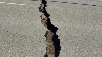 earthquake terremoto grieta crack crepa