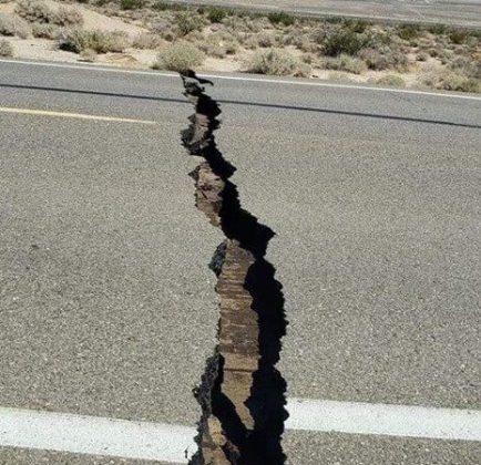 earthquake terremoto grieta crack crepa