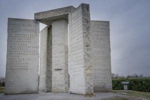 piedras guías georgia guidestones