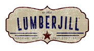 Lumberjill logo and page link
