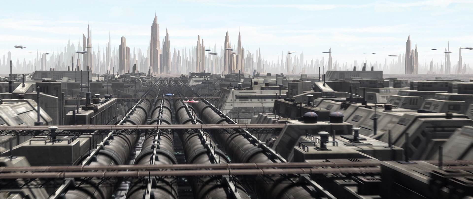 Star Wars Republic Military Base Concept