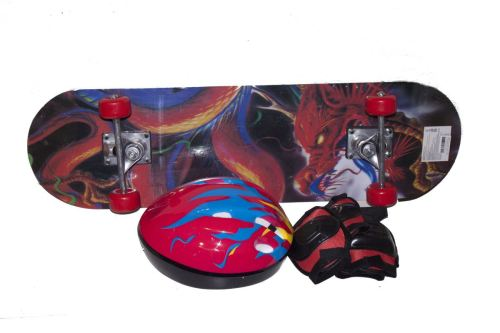 Набор скейт и защита BT-YSB-0055