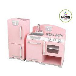 kidkraft toy kitchen kitchens designs retro for sale online kids