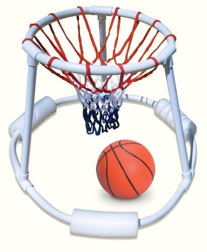 51ba237mEUL - Super Hoops Floating Basketball Game