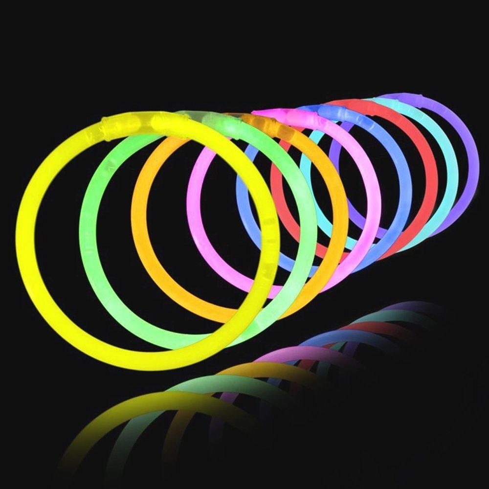 "61 XvX5i6pL. SL1000  - 8"" LumiStick Brand Glowsticks Glow Stick Bracelets Mixed Colors (Tube of 100)"