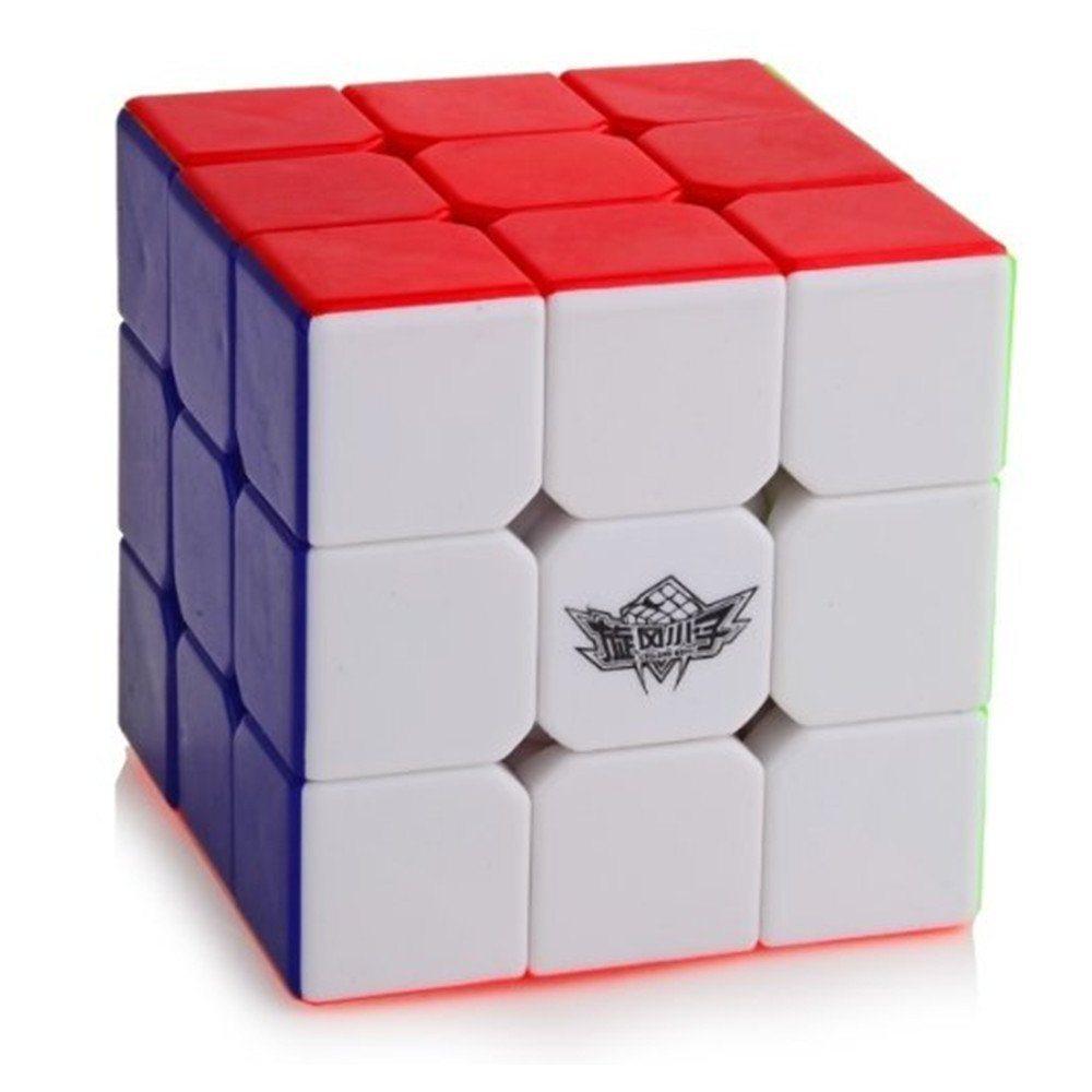 61GW03zyu2L. SL1000  - D-FantiX Cyclone Boys 3x3 Speed Cube Stickerless Magic Cube 3x3x3 Puzzles Toys (56mm)