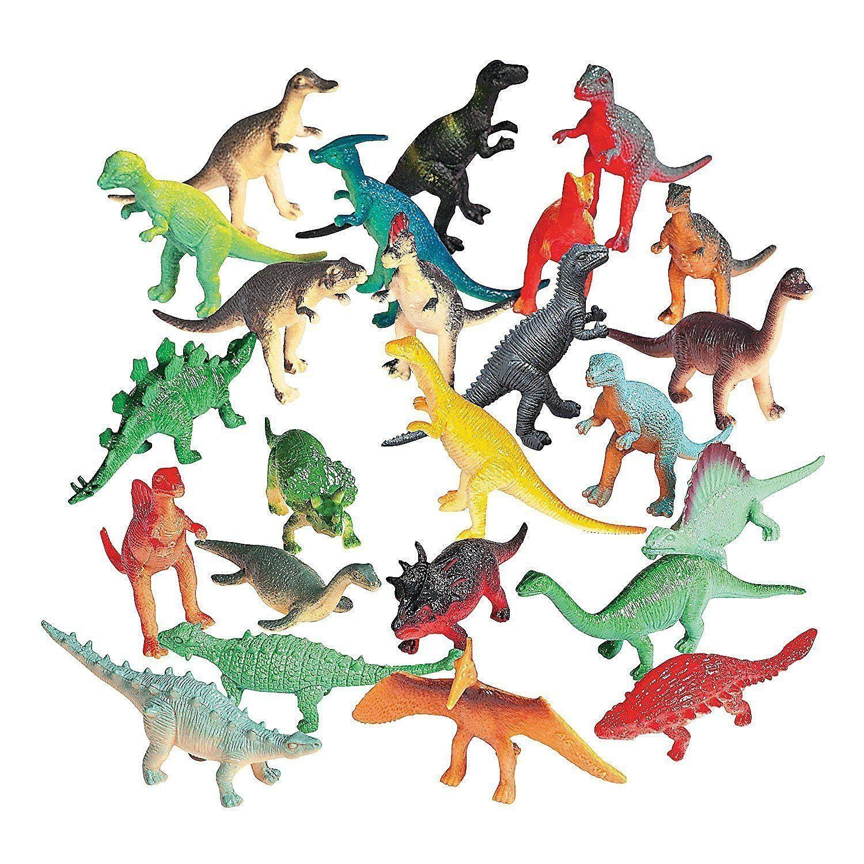 81HS641TzZL. SL1500  - Vinyl Mini Dinosaurs (72 count)