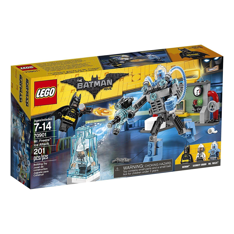 91DLLjtfpxL. SL1500  - LEGO BATMAN MOVIE Mr. Freeze Ice Attack 70901 Building Kit (201 Piece)
