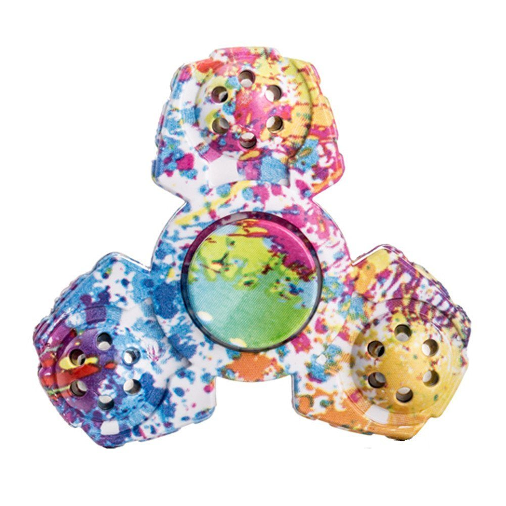 61mWZH14t8L. SL1001  - Meishatong Anti-Spinner New Style Fidget Hand Spinner Stress Relief Anxiety Stress Relief Toy (Multi-Colour)