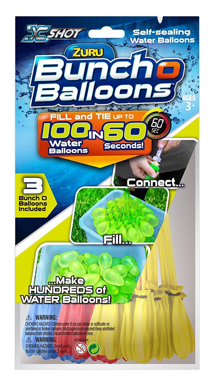 81OkzyrAXKL. SL1500  - X SHOT 01213 Zuru Bunch O Balloons Rapid Foil Bag Toy