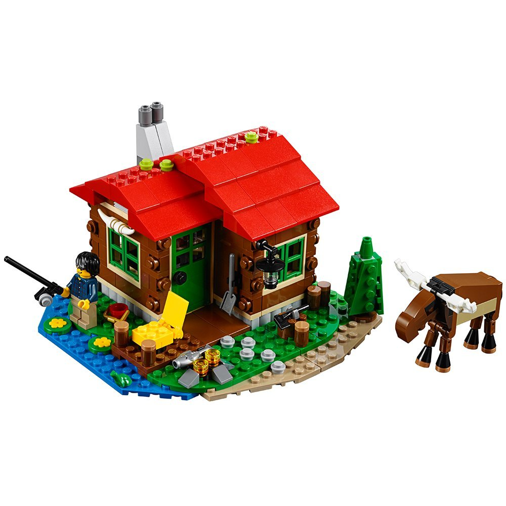 61CRlBkOfzL. SL1000  - LEGO Creator Lakeside Lodge 31048