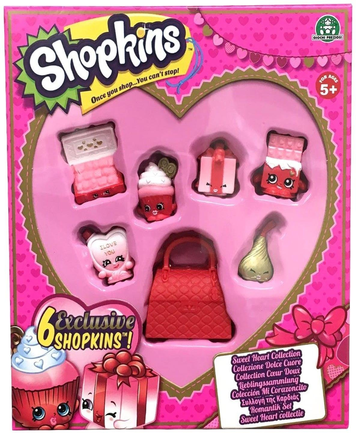 81uuXzxkJ0L. SL1444  - Shopkins Sweet Heart Collection Toy