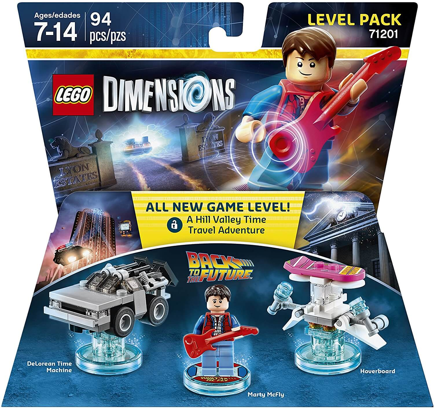 91201hC00QL. AC SL1500  - Back to the Future Level Pack - LEGO Dimensions